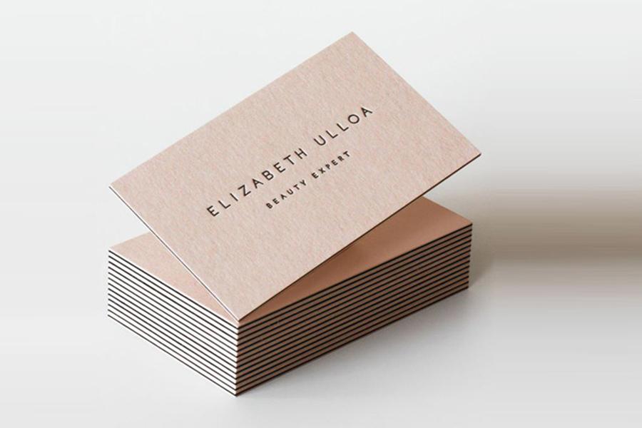 Mẫu card visit đẹp - sang trọng in giấy mỹ thuật