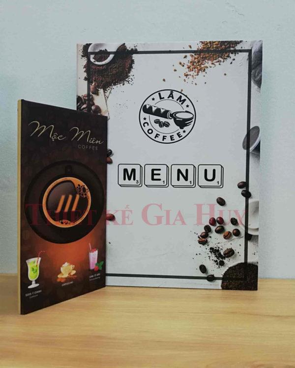 in menu lấy trong ngày