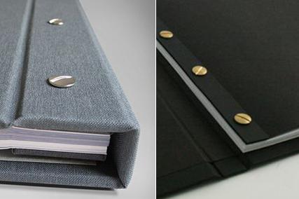 Mẫu menu đẹp nhất hiện nay kiểu vải linen vặn ốc trong - ngoài