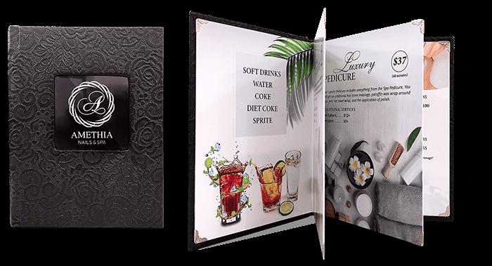 Bộ sưu tập mẫu menu nails đẹp nhất 2019