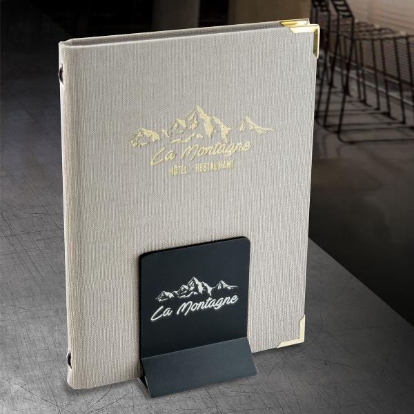 mẫu menu vải cao cấp cho quán cafe, nhà hàng, nails & spa tại tphcm
