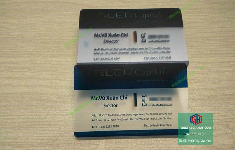 name card nhựa cao cấp