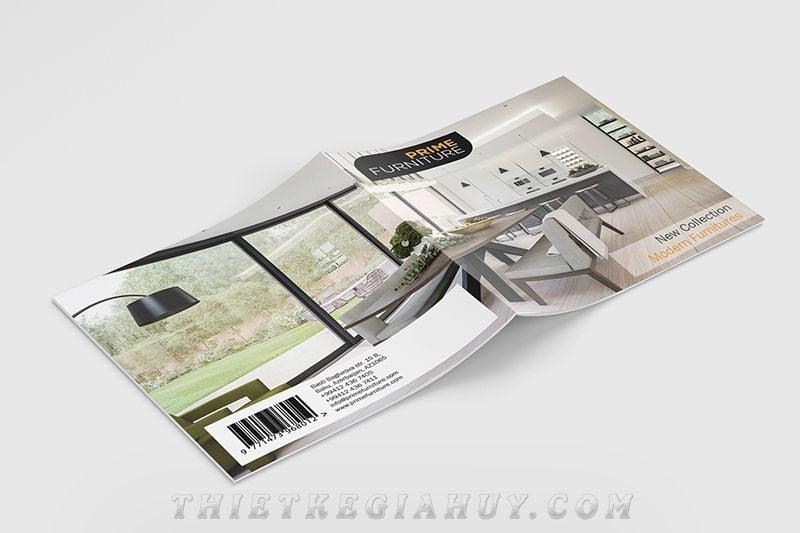Mẫu thiết kế bìa catalogue đẹp