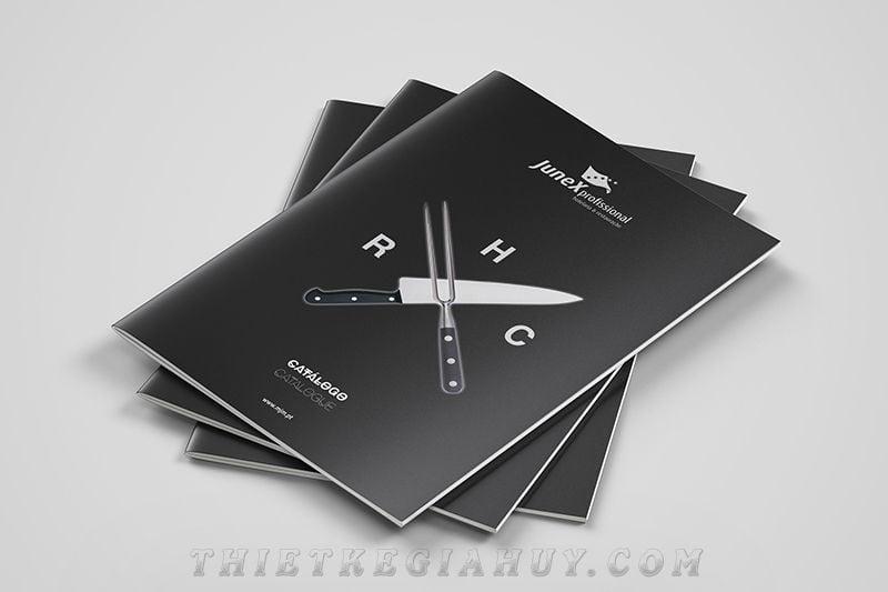 Mẫu thiết kế catalogue phong cách hiện đại
