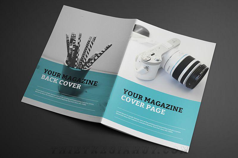 Mẫu catalog cho hãng máy ảnh