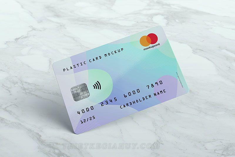 Thẻ nhựa chất liệu PVC 4 lớp