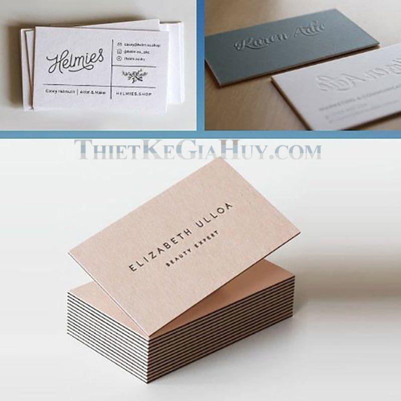 card visit đẹp - sang trọng