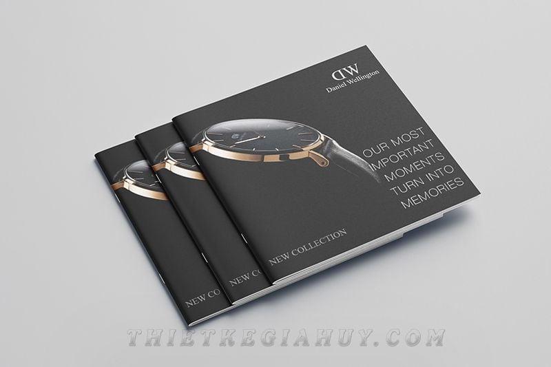 Mẫu bìa catalog cho hãng đồng hồ