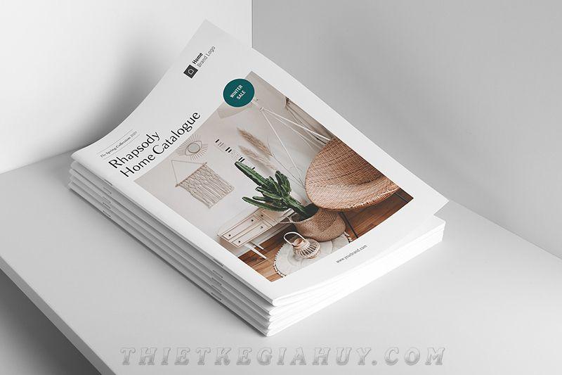 Mẫu catalog nội thất