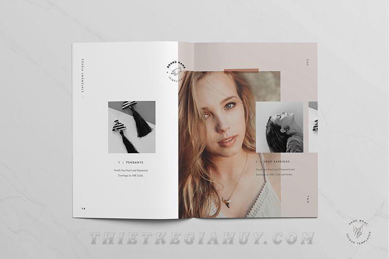 Mẫu in catalogue số lượng ít tphcm cho hãng trang sức