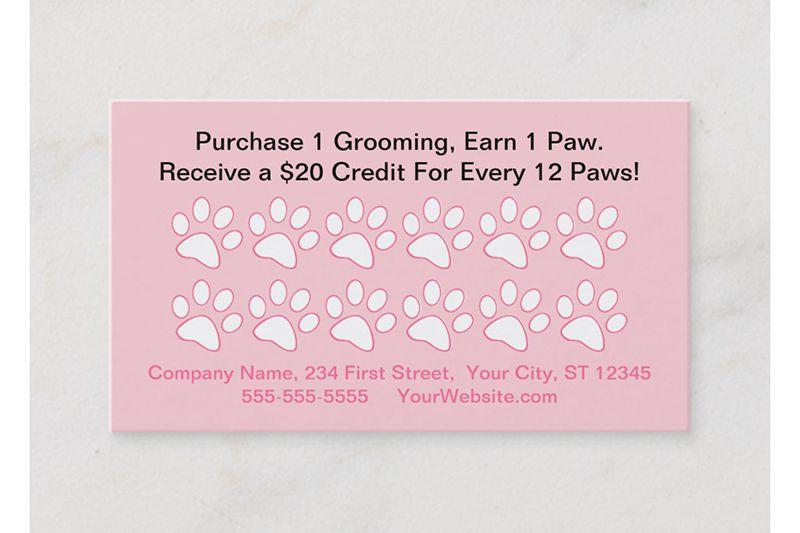 Thẻ tích điểm cho shop thú cưng