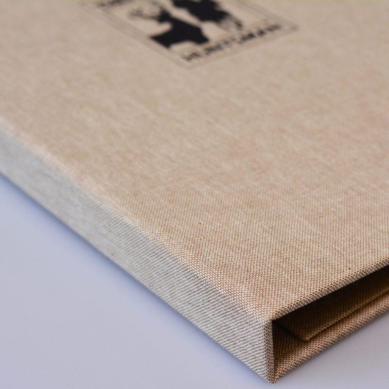 menu bìa vải siêu đẹp cho nhà hàng