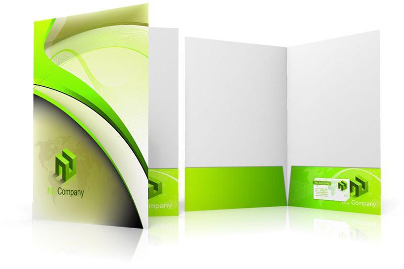 Cách đặt logo hiệu quả trên folder