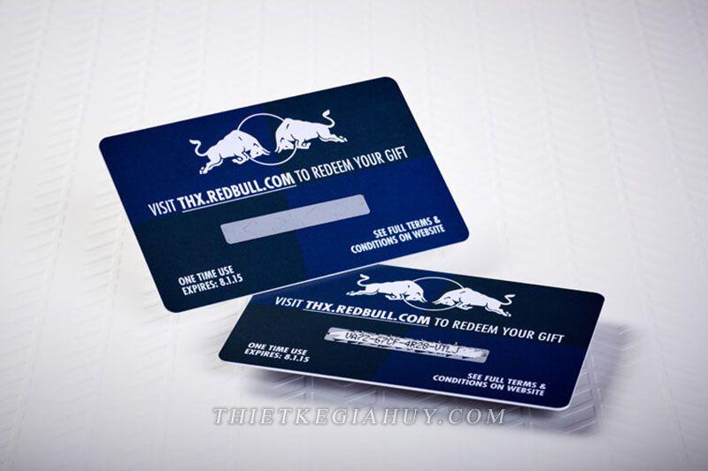 thẻ thành viên nhựa cao cấp