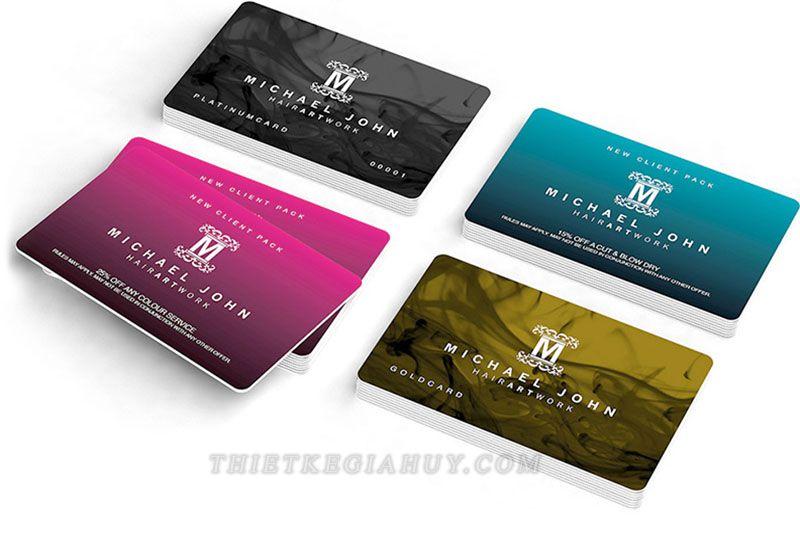 Mẫu thẻ thành viên VIP
