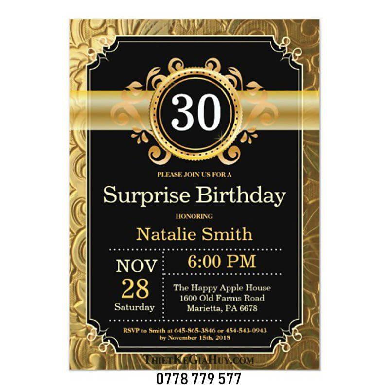 in thiết kế thiệp sinh nhật