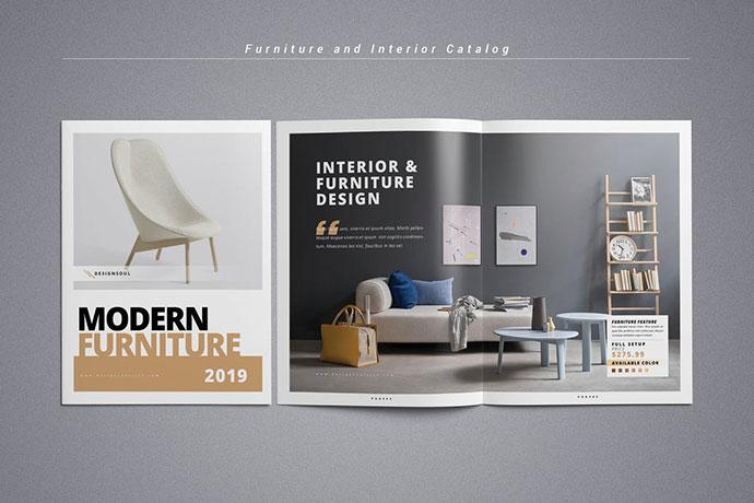 Mẫu thiết kế catalog công ty nội thất