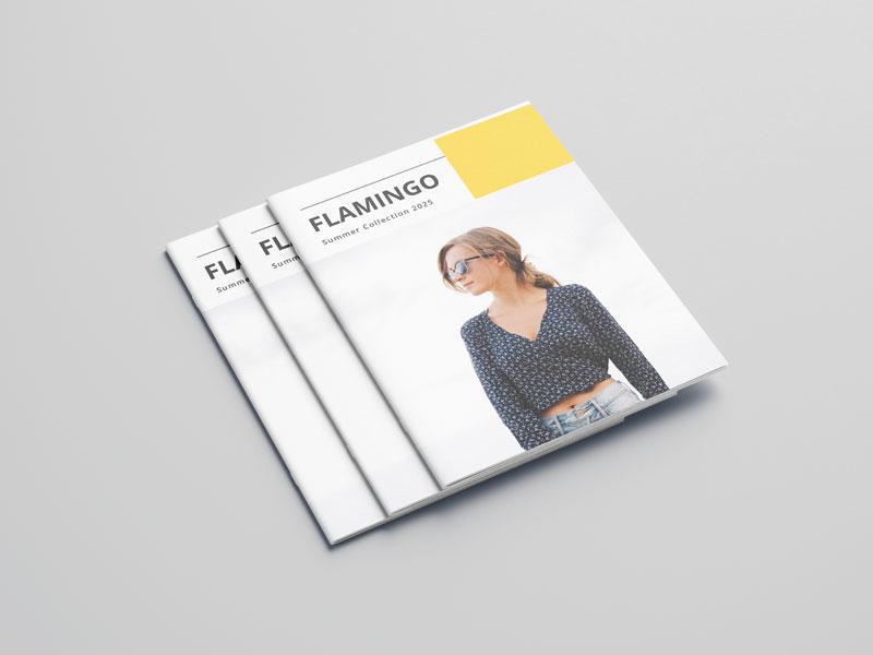 Mẫu catalog công ty thời trang