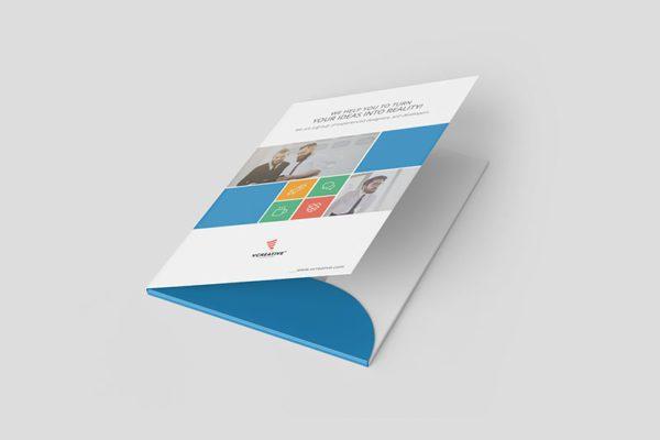 Mẫu folder chuyên dùng đựng hợp đồng có kích thước 220*310mm