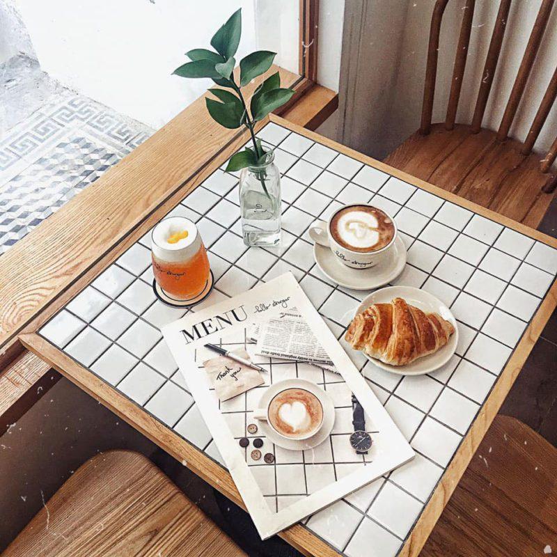Mẫu menu cafe cao cấp