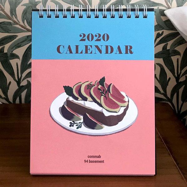 mẫu lịch để bàn 2020