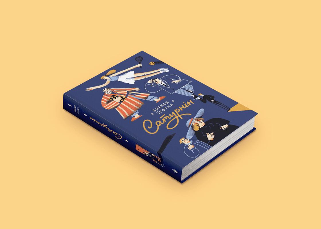 Mẫu bìa sách sử dụng màu sắc của năm classic blue
