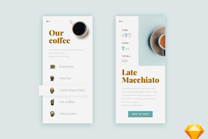 Mẫu thiết kế menu quán cafe cóc