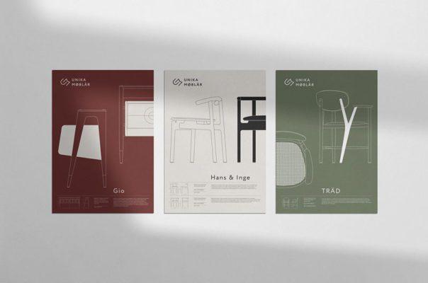 mẫu thiết kế poster hoàn hảo cho một công ty nội thất