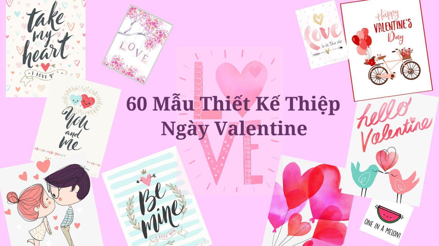 thiết kế thiệp chủ đề valentine