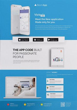 Thiết kế tờ rơi quảng cáo về dịch vụ