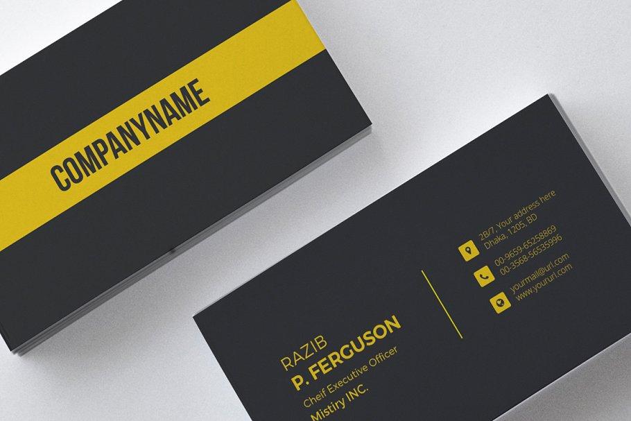 mẫu thiết kế danh thiếp sành điệu
