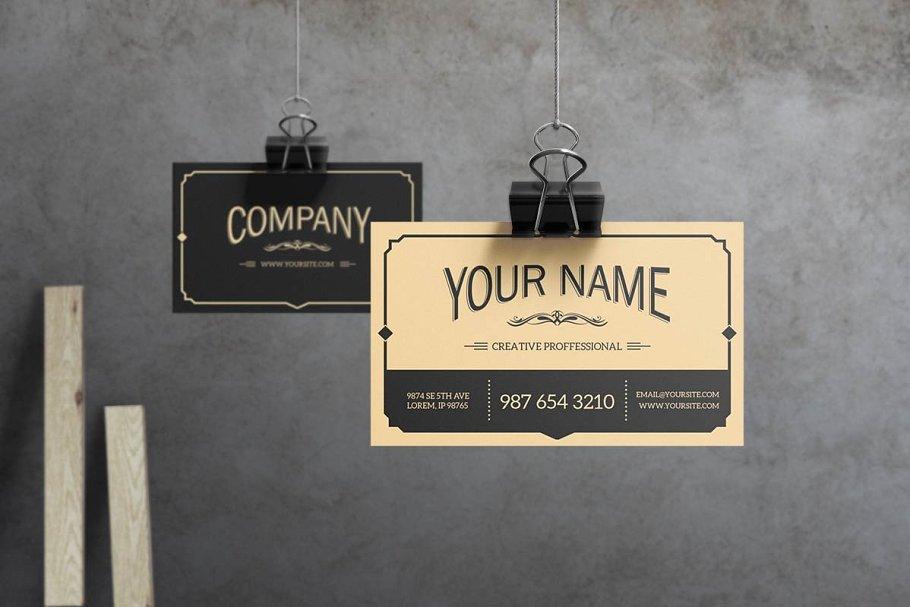 mẫu thiết kế danh thiếp tối giản