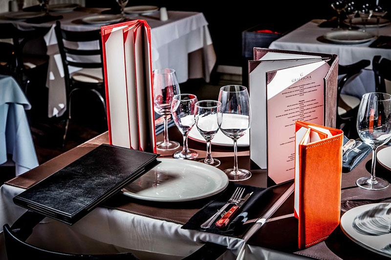 Bộ menu cao cấp dành cho nhà hàng và khách sạn